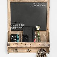 Art/Wall Decor - Reclaimed Wood Chalkboard I Urban Outfitters - reclaimed wood chalkboard, chalkboard message station, chalkboard message board,