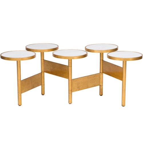 World 39 S Away Eric Hinged Circle Coffee Table I High Fashion Home