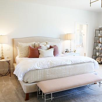 Pink Curtains, Transitional, bedroom, Utah Valley Parade of Homes