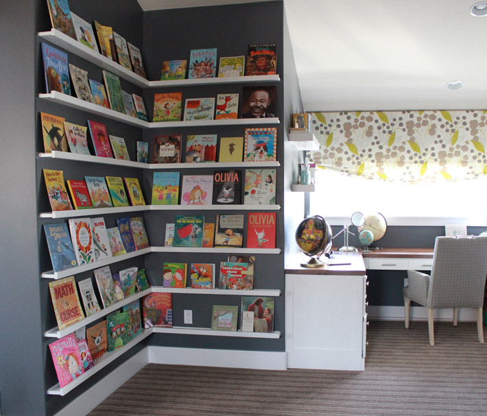 Kids Homework Room Ideas: Alice Lane Home