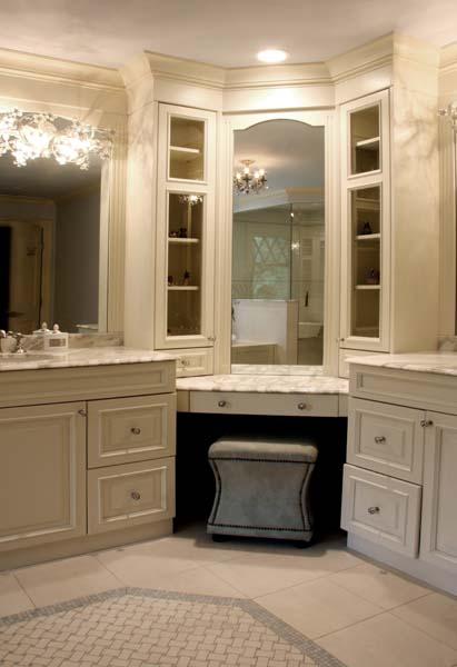 Corner Bathroom Vanity Traditional Bathroom Sharon