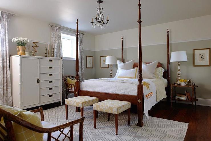 Four poster bed transitional bedroom sarah for Sarah richardson bedroom designs
