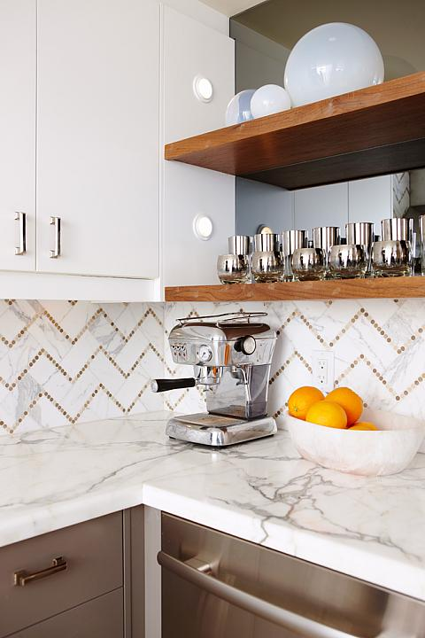 Chevron Tile Backsplash Contemporary Kitchen Sarah Richardson Design