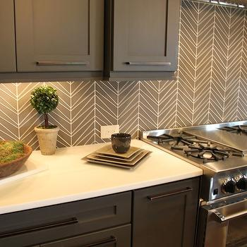Geometric Tile Backsplash Design Decor Photos