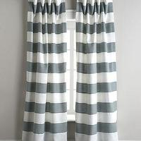 Window Treatments - Legacy Home Tuscany Stripe Curtains I Horchow - gray and white striped drapes, gray and white striped curtains, gray and white striped draperies,