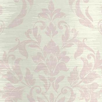 Wallpaper - Damask Stripe Wallpaper by Seabrook Wallcoverings | BURKE DECOR - metallic damask wallpaper, metallic damask striped wallpaper, damask wallpaper,