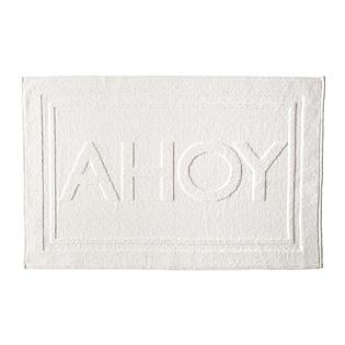 Bath - Ahoy Bath Mat | Serena & Lily - nautical bath mat, nautical bath rug, ahoy bath mat, ahoy bath rug,
