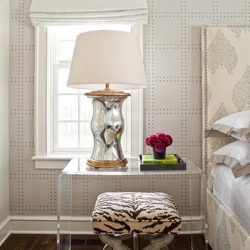 Phillip Jeffries Rivets Wallpaper Design Decor Photos