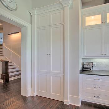 Palmetto Cabinet Studio - kitchens - hidden pantry, hidden pantry doors, disguised pantry, disguised pantry doors, walk in pantry, hidden walk in pantry, hidden kitchen pantry,