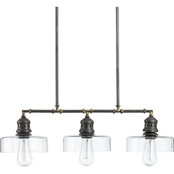 Pendant Lighting Crate And Barrel : Atwell pendant crate and barrel