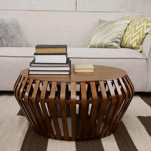 Tables - Bentwood Coffee Table | west elm - bentwood coffee table, bentwood cocktail table, vintage danish style coffee table,