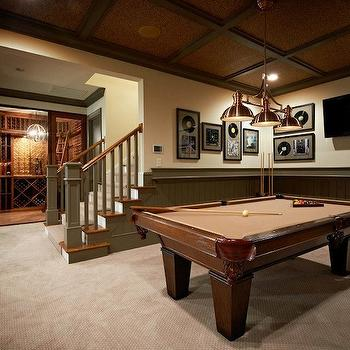 fabulous basement games room with separate wine cellar the basement