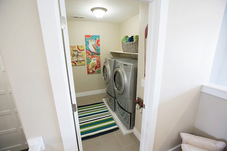 2nd floor laundry room contemporary laundry room for Second floor laundry