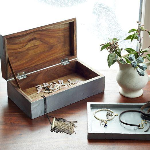 Jewelry Box West Elm Jewelry slide box west elm knock off place of