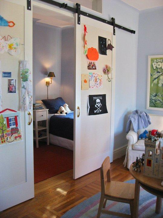 Kids Room Barn Door Traditional Boy S Room Nastasi