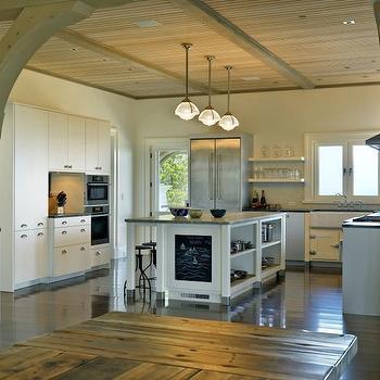 Kitchen Island Chalkboard, Transitional, kitchen, Meyer and Meyer