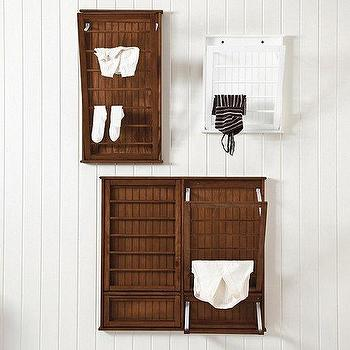 Decor/Accessories - Beadboard Drying Rack | Ballard Designs - beadboard drying rack, beadboard laundry rack, wall mounted drying rack,