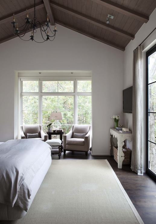Bedroom with vaulted ceilings transitional bedroom ryan street and associates - Vaulted ceiling bedroom ...