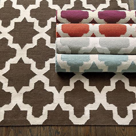 Mendoza dhurrie rug ballard designs for Ballard designs bathroom rugs
