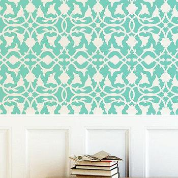Wall Stencil Lattice Trellis Allower Pattern Wall by OMGstencils I Etsy