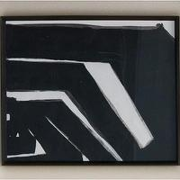 Art/Wall Decor - Amphitheater Wood Framed Print | DwellStudio - black and white art, black and white abstract art, framed black and white abstract art,