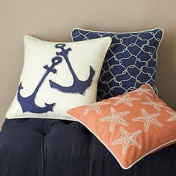 Garnet Hill Canvas Pillow Cover Collection I Garnet Hill