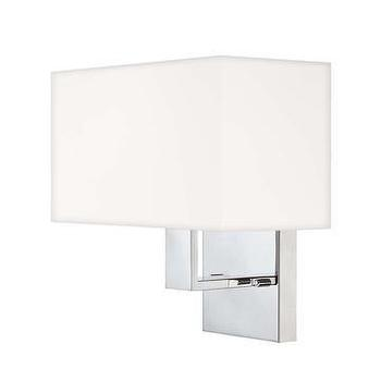 Lighting - Quoizel Remi Wall Sconce in Polished Chrome I LightsOnline.com - polished chrome wall sconce, modern chrome wall sconce, polished chrome sconce,
