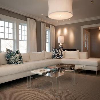 Jcs Construction Living Rooms White And Gray Living