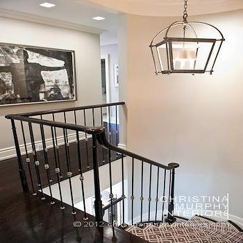 Staircase Lantern, Transitional, entrance/foyer, Christina Murphy Interiors