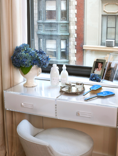 floating vanity contemporary bedroom robyn karp interiors