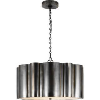 Lighting - Visual Comfort Alexa Hampton 2 Light Markos Hanging Pendant I Home Click - bronze hanging pendant, bronze pendant, bronze pendant light,