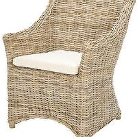 Seating - Stella Armchair | HomeDecorators.com - rattan armchair, kubu rattan chair, kubu rattan armchair,