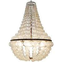 Lighting - Oly Studio Ariel Chandelier I Layla Grayce - capiz style chandelier, capiz shell style chandelier,