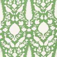 Fabrics - Chenonceau Aloe Fabric by the Yard I Layla Grayce - green and white floral fabric, green and white nature inspired fabric, green and white french style fabric,