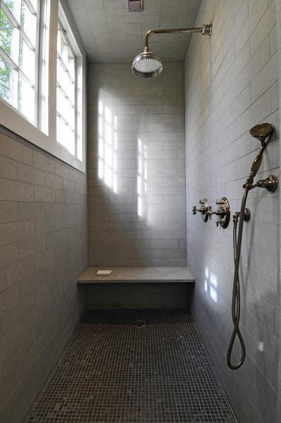 Shower Bench Ideas Contemporary Bathroom Baker House 1650
