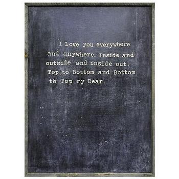 Sugarboo Designs Art Print I Love You Everywhere I Layla Grayce