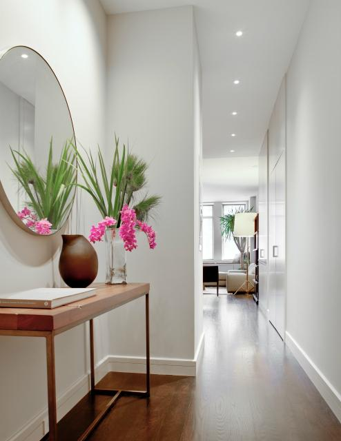 Contemporary Foyer Mirrors : Foyer mirror contemporary entrance wettling