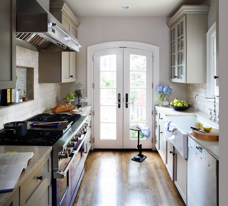 Galley kitchen ideas transitional kitchen wentworth for Galley kitchen remodel