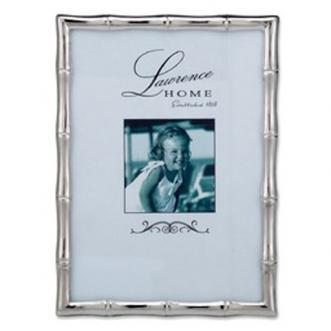 Decor/Accessories - Silver Bamboo Frame I Biscuit Home - silver bamboo frame, silver bamboo photo frame, silver bamboo picture frame,
