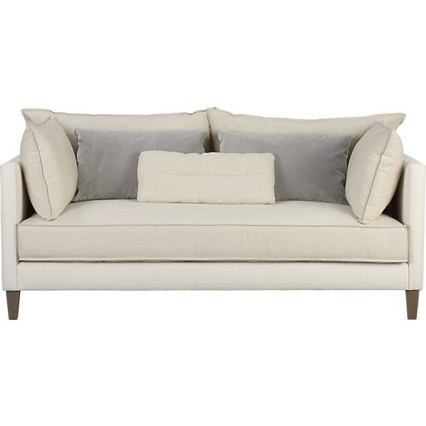 asana apartment sofa crate and barrel