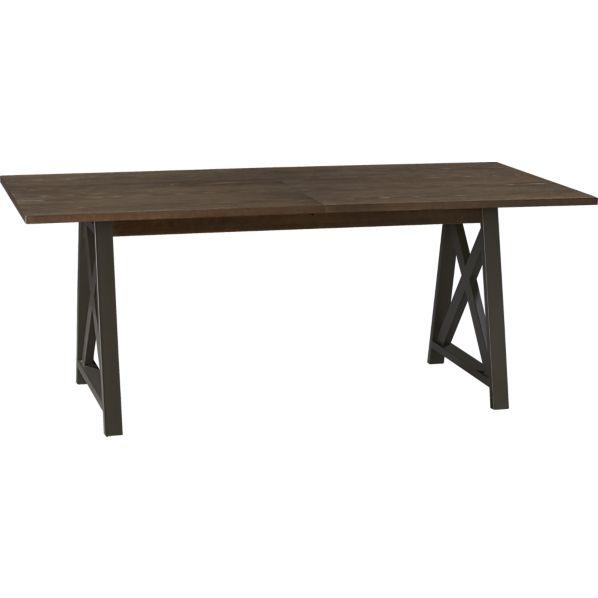 Dining Table Crate Barrel Gallerie Dining Table