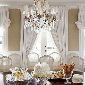 French Cane Chairs, French, dining room, Andrew Maier