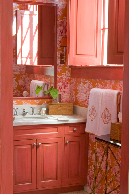 Kids bathroom eclectic bathroom mmr interiors for Pink and orange bathroom ideas