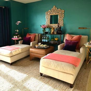Purple Lounge Contemporary Living Room Ana Antunes