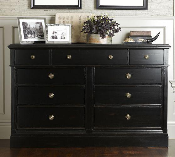 Branford Extra Wide Dresser Pottery Barn