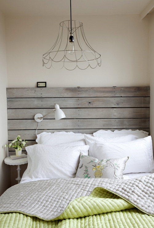 Plank Headboard Cottage Bedroom The Cross Decor Amp Design