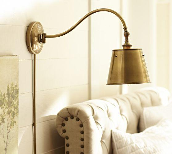 Wall Lamps Pottery Barn : Walker Sconce Pottery Barn