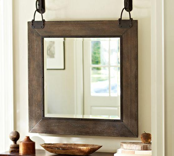 carleton mirror pottery barn With barn style mirrors