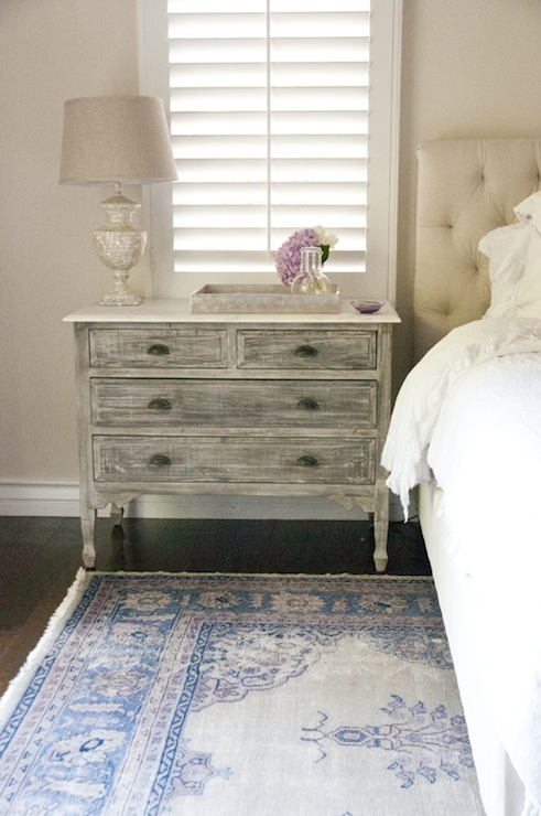 Marble Top Bedside Table Transitional Bedroom Dl Rhein