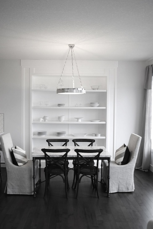 Restoration hardware dining chairs transitional dining for Restoration hardware dining room ideas